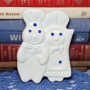 SOLD▪︎Vtg 1988 Pillsbury Poppin Fresh Spoon Rest